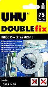 Uhu Double Fix Rollo 19 Mm X 1.5 Mts